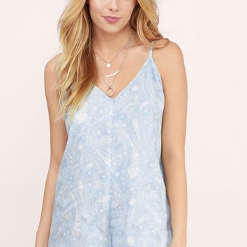 Lost Lovers V-Neck Romper