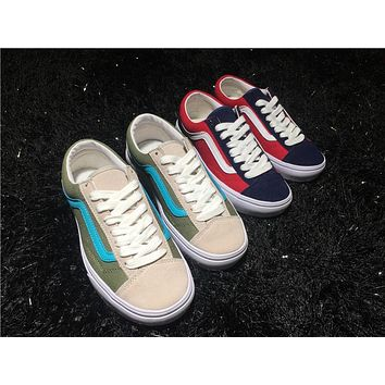 Vans Vault Og Sk8-hi Lx Og Style 36 Lx Running Shoes 36-44 - Beauty Ticks