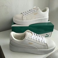 """""""Puma"""" Unisex Sport Casual Low Help Plate Shoes Couple Fashion Thick Bottom Small White Shoes Sneakers"""