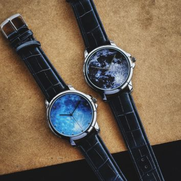 Vintage Galaxy Sky Watch