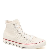 Converse Chuck Taylor All Star Hi Winter Knit Sneakers - Womens Shoes - White