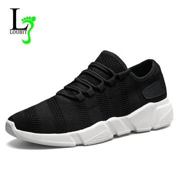 Men Sneakers Fashion Summer Shoes Men Casual Shoes Breathable Lace up Sneakers 2018 New Men Shoes