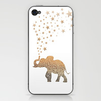 GATSBY ELEPHANT iPhone & iPod Skin by Monika Strigel
