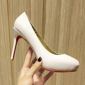 Christian Louboutin Women Fashion Casual High Heels Shoes-3