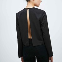 Solace Lane Long Sleeve Top in Black - Urban Outfitters