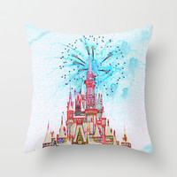 Disney Throw Pillow by EFD_