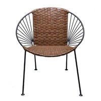 Chapultepec Chair in Leather