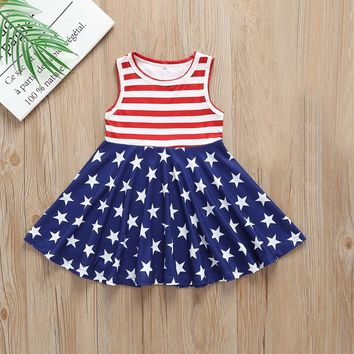 Stars And Stripes Fourth Tank Dress