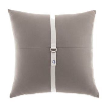 Southern Tide® Starboard Square Throw Pillow in Grey