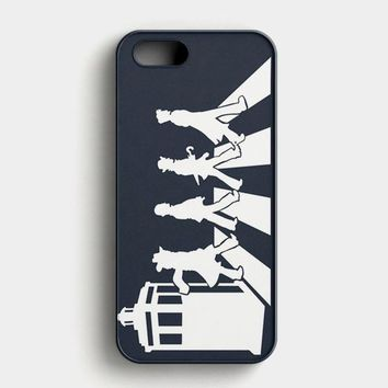 Tardis The Beatles Dr Who iPhone SE Case