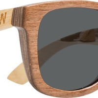 WOODZEE SIERRA BAMBOO TWO TONE SUNGLASSES