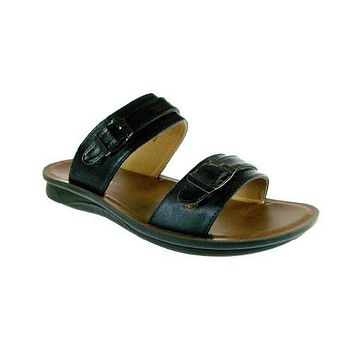 Majestic Men's 28523 Classic Belted Slip On Sandals