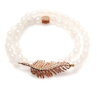 Electric Picks Beautiful Stranger White Wrap Bracelet