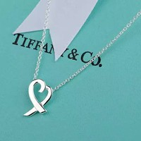 Tiffany & Co. Classic Heart-language necklace