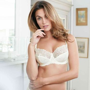 Suzette Soft Cup Bra in Ivory by Charnos