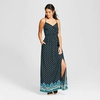 Women's Wrap Surplice Maxi Dress - Xhilaration™ (Juniors')