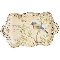 Pier 1 Imports - Product Details - Petite Metal Tray with Bird