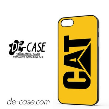 Yellow Caterpillar Logo DEAL-12123 Apple Phonecase Cover For Iphone 5 / Iphone 5S