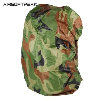 Tactical Hunting Camouflage Pack Nylon Case 30L-40L Camping Hiking Backpack Luggage Bag Dust Rain Water Cover Travel Tool!
