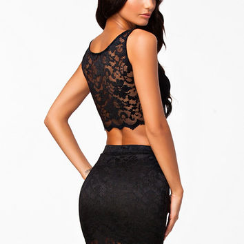 Lace Crop Set, NLY One