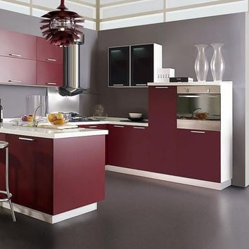 Matte lacquer material for kitchen cabinets