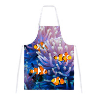 Clownfish Sea Anemone All Over Apron
