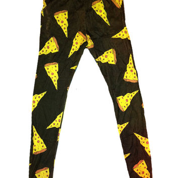 SWEET LORD O'MIGHTY! PIZZA LEGGING