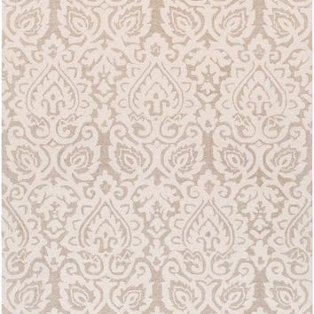 Surya Scott Medallions and Damask Neutral SCT-1002 Area Rug