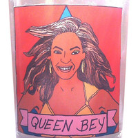 Beyoncé Glass Votive Candle