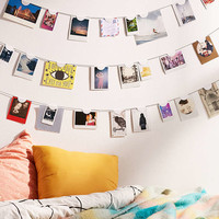 Luna Half Moon Photo Clips Set - Urban Outfitters