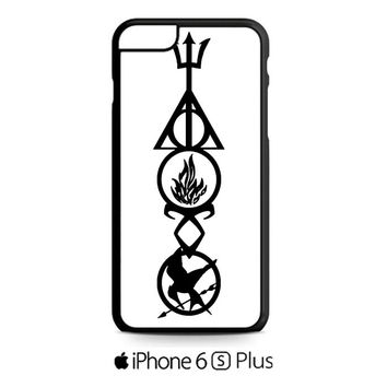 Harry Potter, Divergent , HUnger Games iPhone 6S  Plus  Case