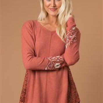 Don't Mesh With My Heart Top by Simply Noelle