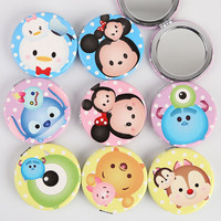 Miniature Kawaii Cute Tsum Tsum Pocket Compact mirror 8 Different Characters