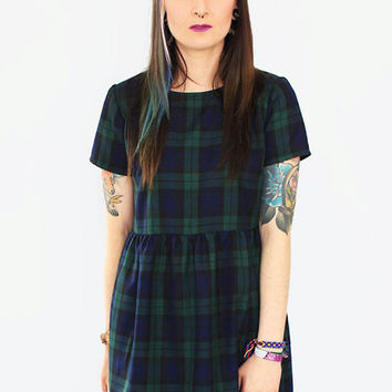 Blackwatch Tartan Dress