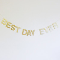 Shop Sweet Lulu - Glitter Banner/Sign Letters