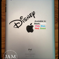 Vinyl Decal, Disney logo inspired - Perfect for Tablet, Computer, Electronics, etc