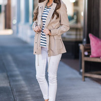 All About Class Jacket, Beige
