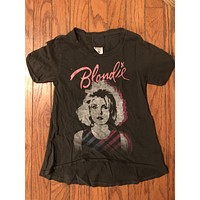 Girls Junk Food Band Blondie t-shirt