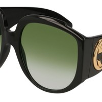 NEW Gucci GG0151S 001 Black Sunglasses