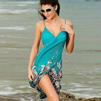 Flirty Wrap Around Beach Wrap