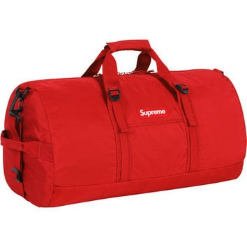 Supreme: Duffle Bag - Red