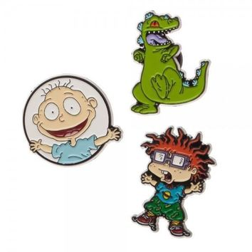 MPJ Rugrats Lapel Pin 3 Pack