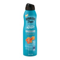 Hawaiian Tropic Island Sport SPF 30 Ultra Light High Performance Sunscreen Light Tropical Scent, 6.0 OZ - Walmart.com