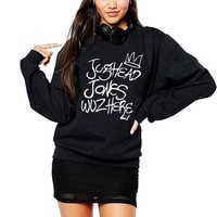 Jughead Jones Wuz Here Crewneck Sweatshirt Women South Side Serpents Riverdale Hoodies Hipster Tv Shows Ladies Juggie Ho'o'd'y
