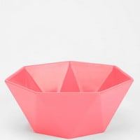 Sculpted Geo Bowl  - Urban Outfitters