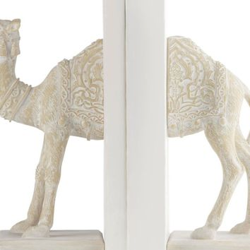 Camel Bookends | Natural West Street Bedroom Inspiration | Bedroom | Inspiration | Z Gallerie