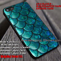 Mermaid Tail Texture iPhone 6s 6 6s+ 6plus Cases Samsung Galaxy s5 s6 Edge+ NOTE 5 4 3 #art ii