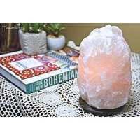 Rare Pearl White Himalayan Salt Lamp- Small