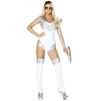 Mars Girl Explorer Spacesuit Halloween Costume