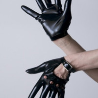 Latex Rubber Motorcycle Wrist Glove by VEX - Moto Glove-